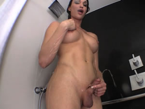 real dickgirl Jonelle Brooks in hardcore XXX galleries
