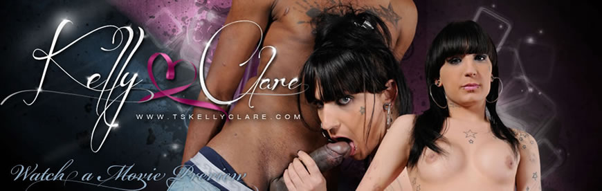Hot XXX collection of dickgirl Kelly Clare