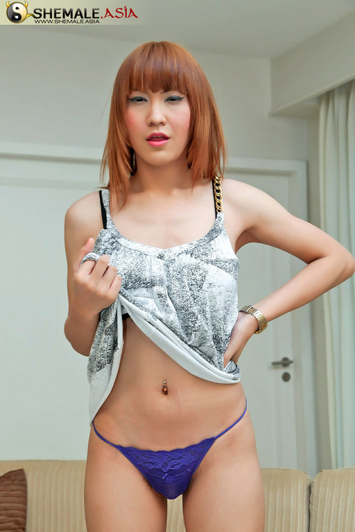 Asian nude shemale
